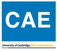 CAE (Certificate of Advanced English)